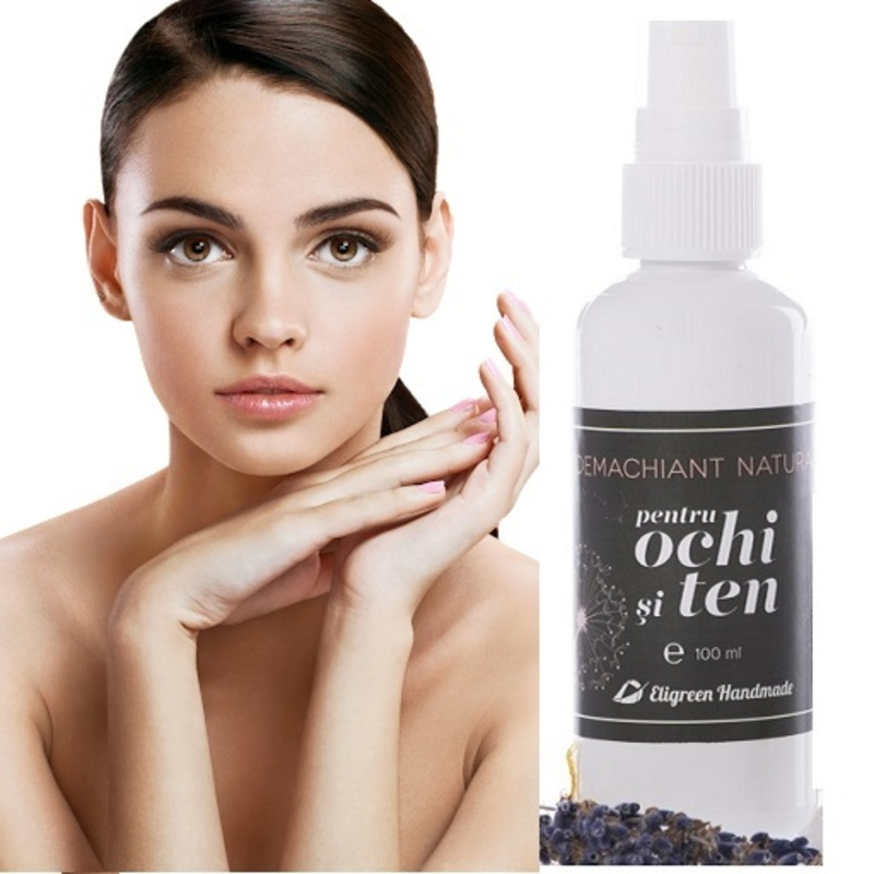 Eligreen - Demachiant natural pentru ochi si ten Eligreen Handmade, 100 ml